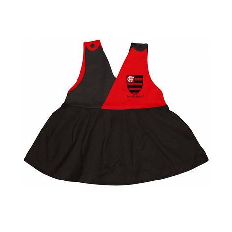 Vestido-Flamengo-Decote-V-Torcida-Baby
