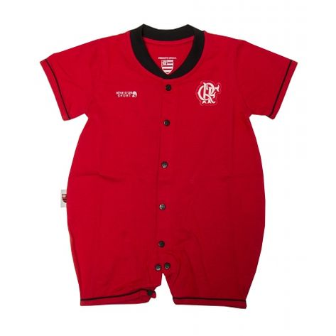 Macacao-Flamengo-Curto-Unissex-Vermelho