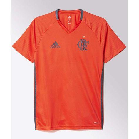 Camisa-Flamengo-Treino-Vermelha-Adidas-2022
