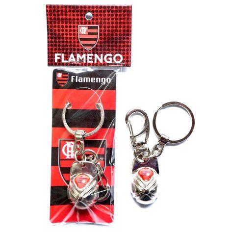 Chaveiro-Flamengo-Bone-Resina-