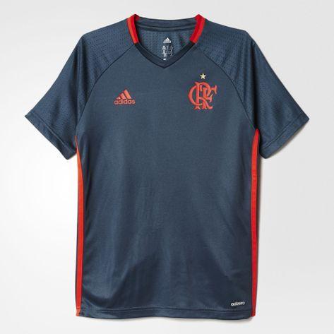 camisa-infantil-flamengo-treino-cinza-adidas-2016