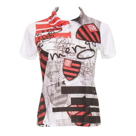 Polo-Feminina-Flamengo-Glass