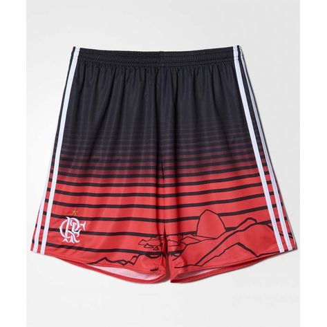 Shorts-Flamengo-Jogo-3-Adidas-2016