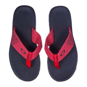chinelo-oakley-lines-red-line-par