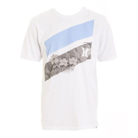 camiseta-hurley-slash-floral-branca