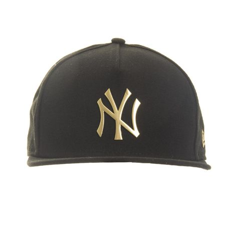 bon-new-era-snapback-a-frame--new-york-yankees-black-gold-frente