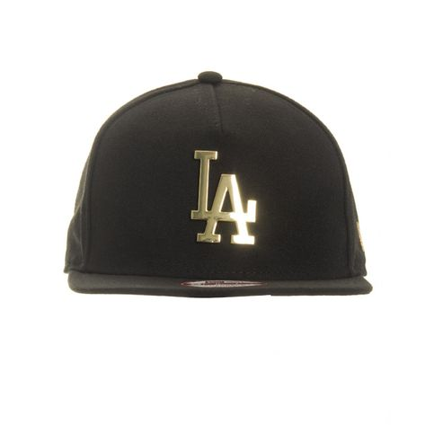 bone-new-era-9fifty-snapback-los-angeles-dodgers-gold-metal-logo-frontal