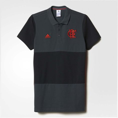 camisa-polo-flamengo-3s-cinza-adidas-2016-frente