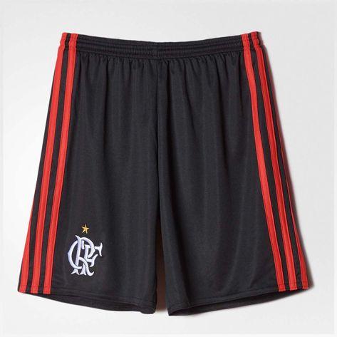 short-infantil-flamengo-oficial-1-preto-adidas-2016-frente