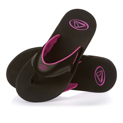 CHINELO-REEF-GIRLS-FANNING-BLACK-GREY-BERRY-2