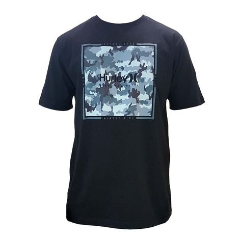 camiseta-hurley-leafy-ppreta-frente