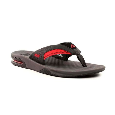 chinelo-reef-fanning-grey-black-red-1