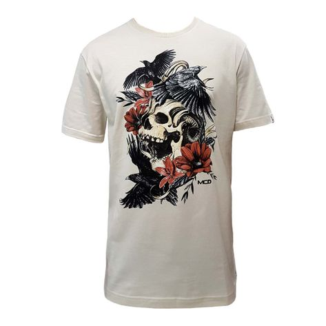 camiseta-mcd-screen-skull-bege-1