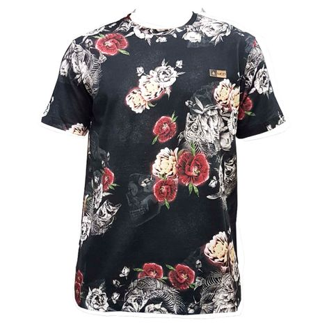 camisa-mcd-flores-preta-1