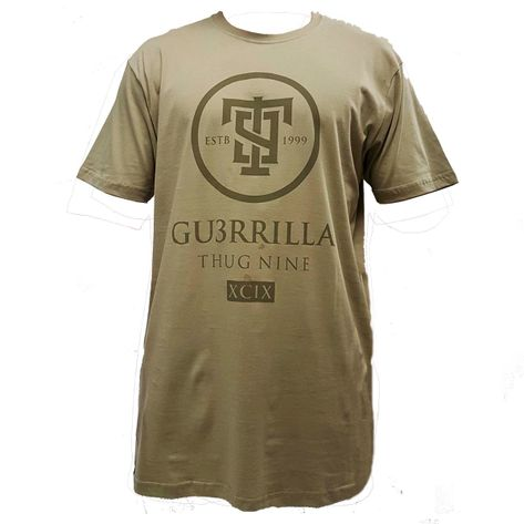 camiseta-thug-nine-verde-frente