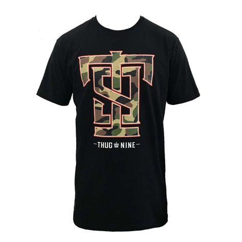 camisa-thug-nine-preta-camo