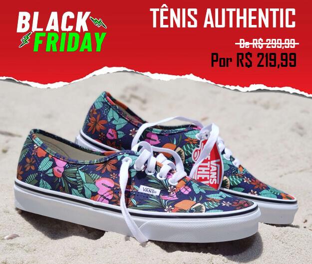 Tênis Vans Black Friday