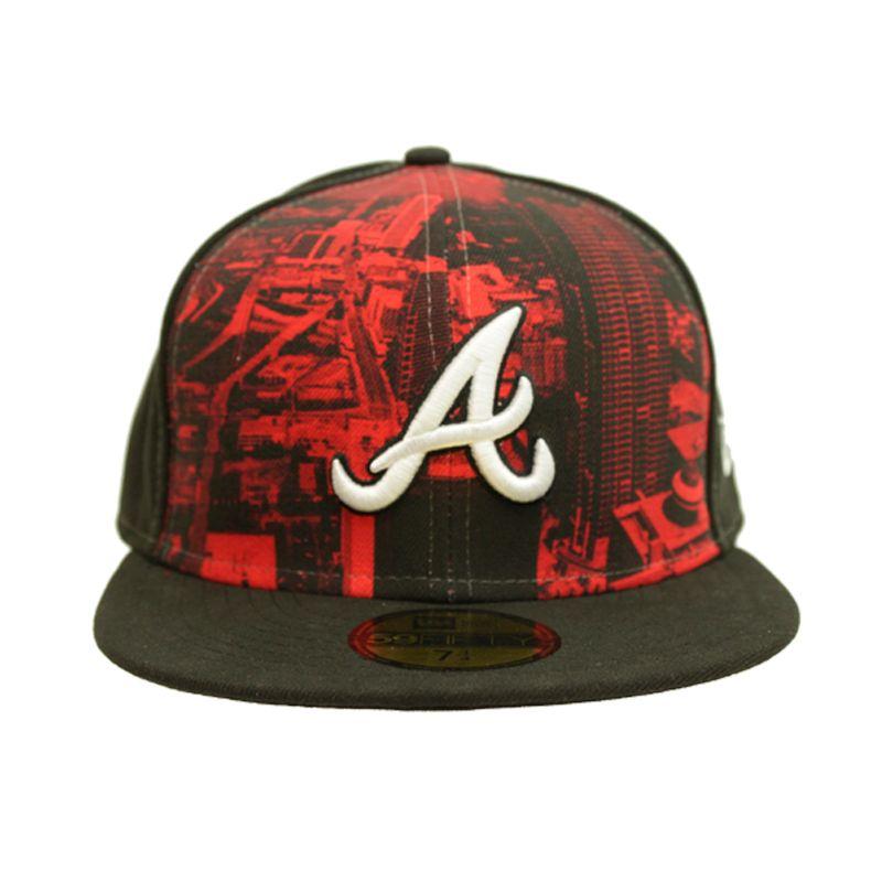 WQSurf  Boné New Era Atlanta Braves Logo Vista Atlbra - WQSurf 65ce0d077df