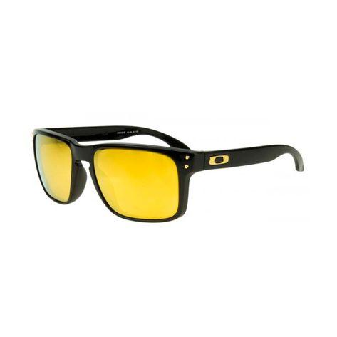Oculos-Oakley-Holbrook-Shaun-White---Polished-Black---Lente-24K-iridium