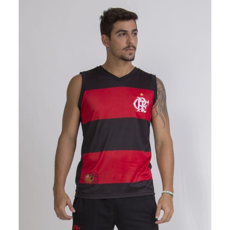16e169179 Espaço Rubro Negro  Regata Flamengo Hoop CRF - EspacoRubroNegro