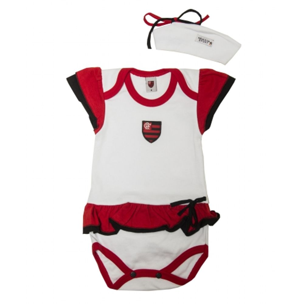 c797befc5101ef Kit Flamengo Body Vestido com Tiara - EspacoRubroNegro