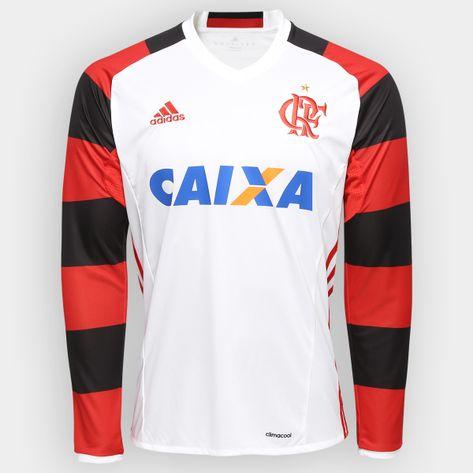 camisa-Flamengo-Oficial-II-M-L-Adidas-2016
