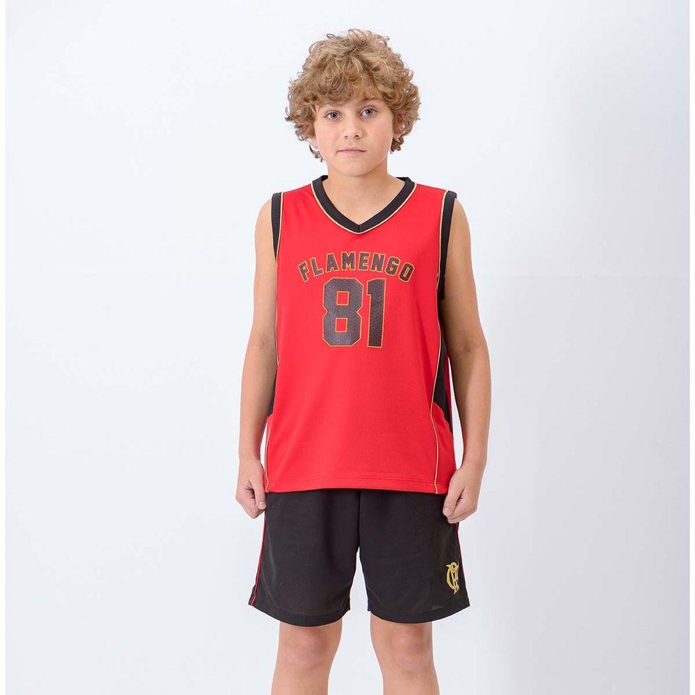 Regata Infantil Flamengo Victory Braziline - EspacoRubroNegro c3f67d7ff98c6