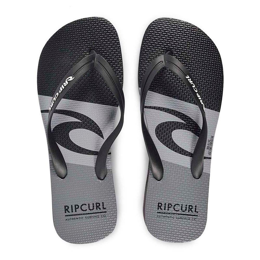 Chinelo Rip Curl Icon Black Grey - WQSurf 064441f652c