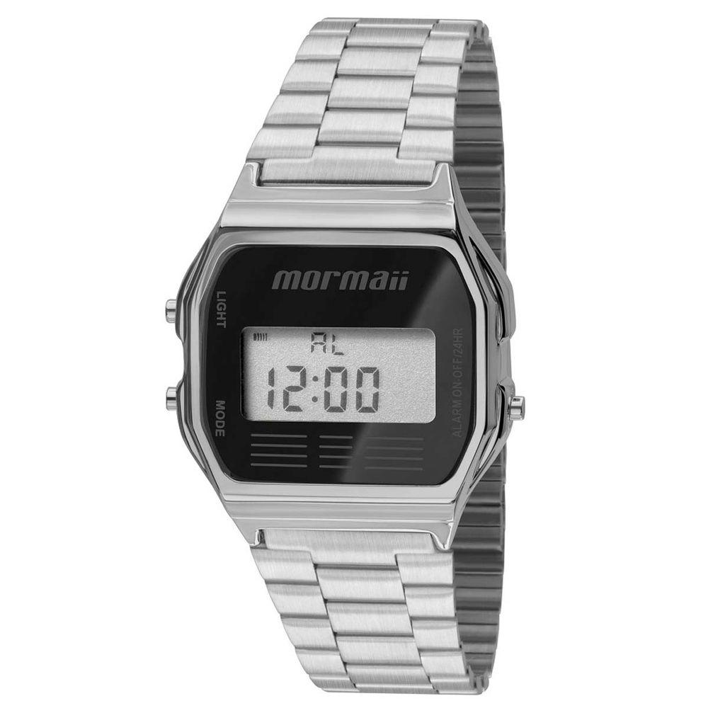 Relógio Mormaii Maui MOJH02AA 3P Prata - WQSurf f494b38ffb