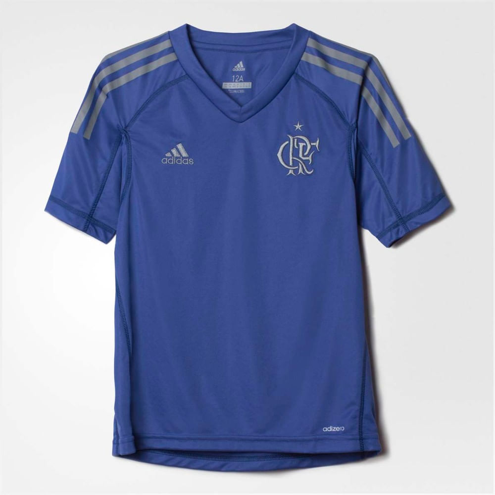 Camisa Infantil Flamengo Goleiro 1 Adidas 2017 - EspacoRubroNegro 35a1692239071