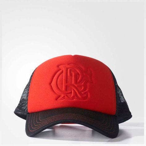 Boné Flamengo Escudo Dry - EspacoRubroNegro 9faffad2247