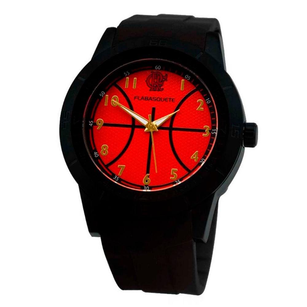 b3ad963ed Relógio Flamengo Basquete MO2315AB P - EspacoRubroNegro