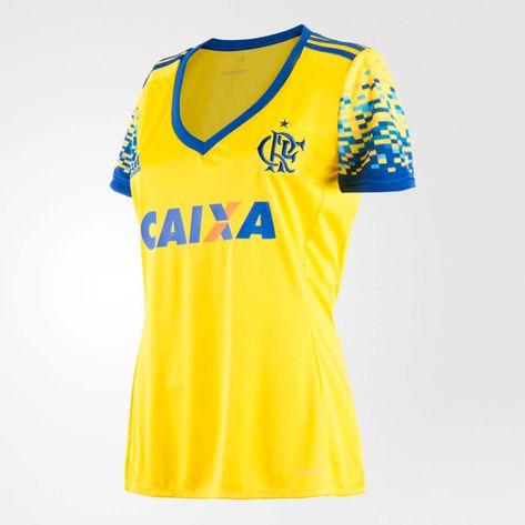 77b6b2508916a camisa-flamengo-feminina-oficial-jogo-3-adidas-2017-