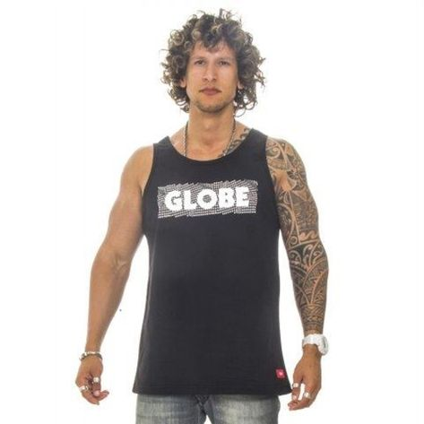 regata-globe-3d-preto-frente