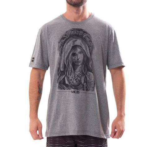 camiseta-mcd-holy-cinza-mescla-frente
