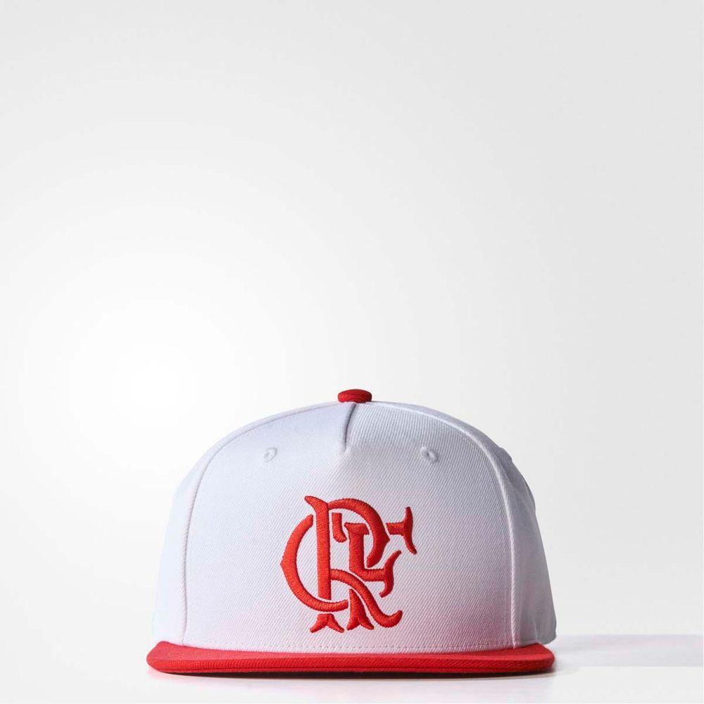 Boné Flamengo Branco Adidas 2017 - WQSurf ab8bbf6ca89