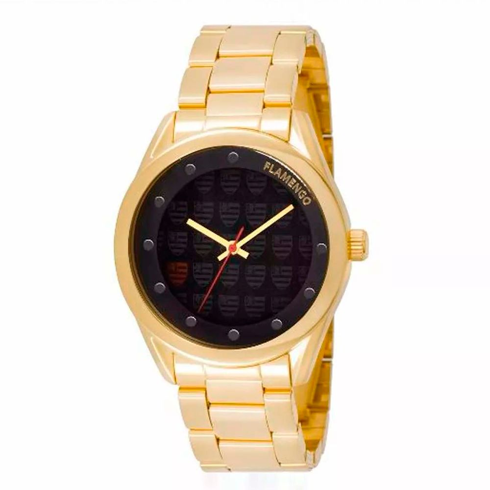 855a656ae6e Relógio Feminino Flamengo FLA2035AC 4P - EspacoRubroNegro
