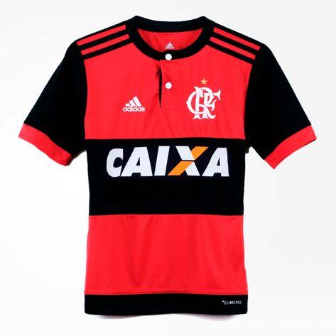 camisa-flamengo-infantil-jogo-1-2017
