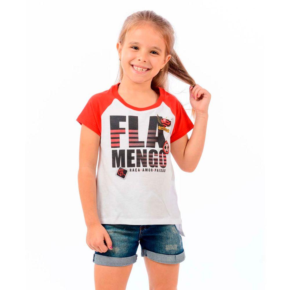 Blusa Flamengo Infantil School - EspacoRubroNegro 681b0abaaa0c7