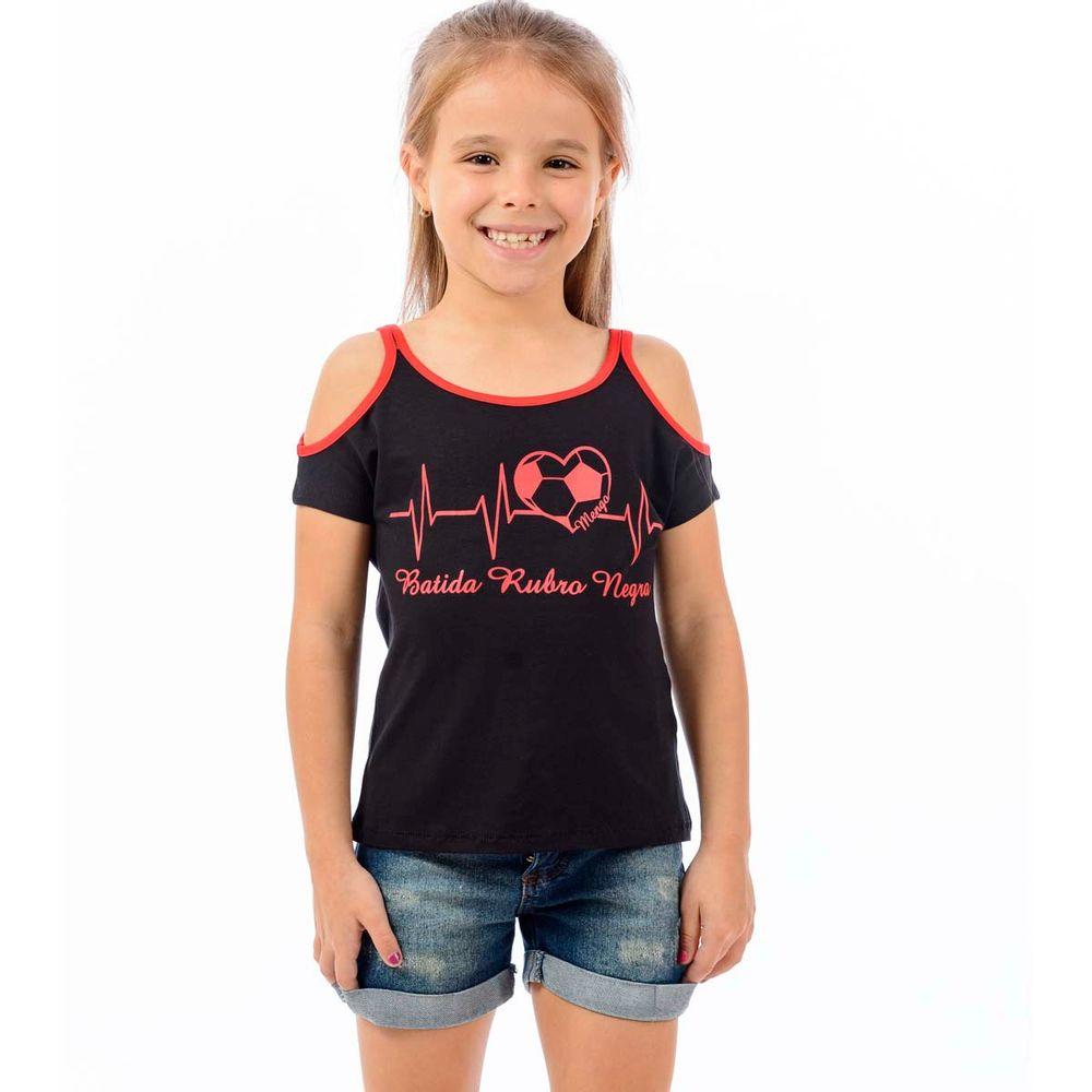Blusa Flamengo Infantil Beat - EspacoRubroNegro ebe6dcc857e5f