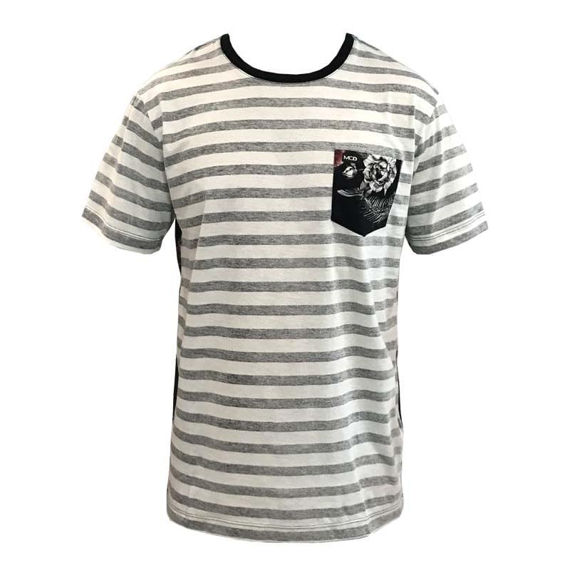 Camiseta MCD Especial Flower Fish Bege - WQSurf a0200fc2f9f