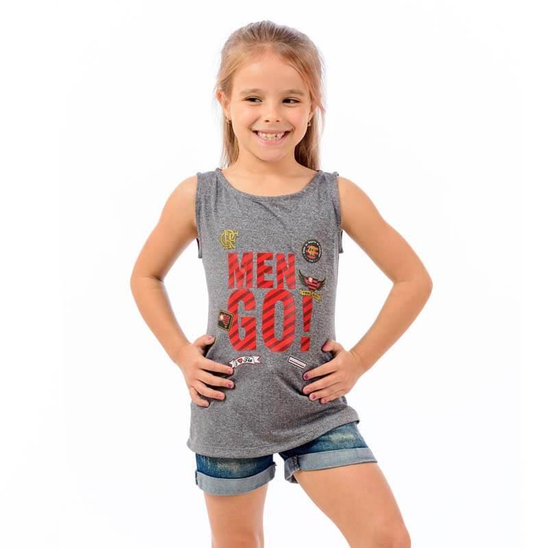 Camisa Infantil Flamengo Born Preta - EspacoRubroNegro afbe3f894846d