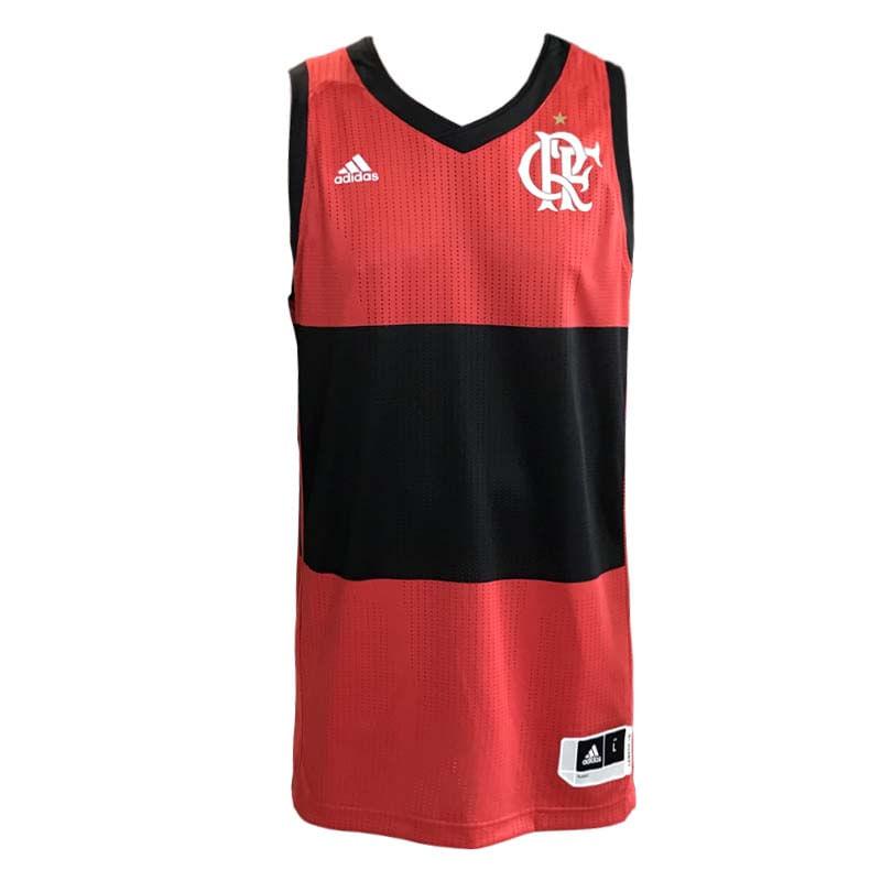 7835e4b70b Camisa Flamengo 1 Fan Adidas 2018 Produto Esgotado. 11551. regata-flamengo -basquete-jogo1-home