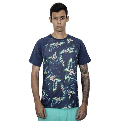 Camiseta-Hurley-Especial-Two-Fall-MARINHO