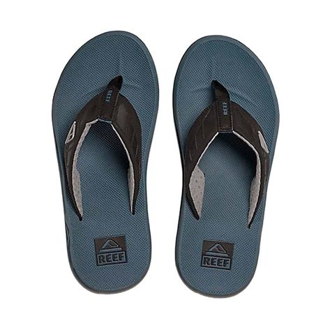 chinelo-reef-phantom-black-steel-blue