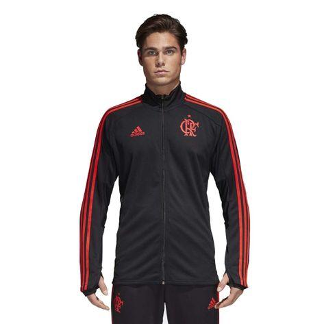 Jaqueta-Flamengo-Treino-Adidas-2018-Black