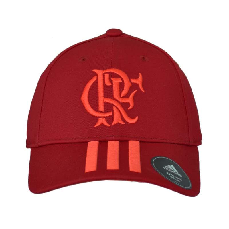 Boné Flamengo 3S Adidas 2018 - EspacoRubroNegro 654465e6c1da9