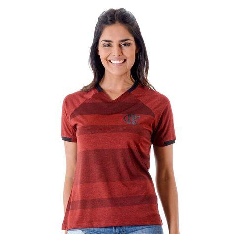 Camisa Flamengo Feminina Vision Raglan