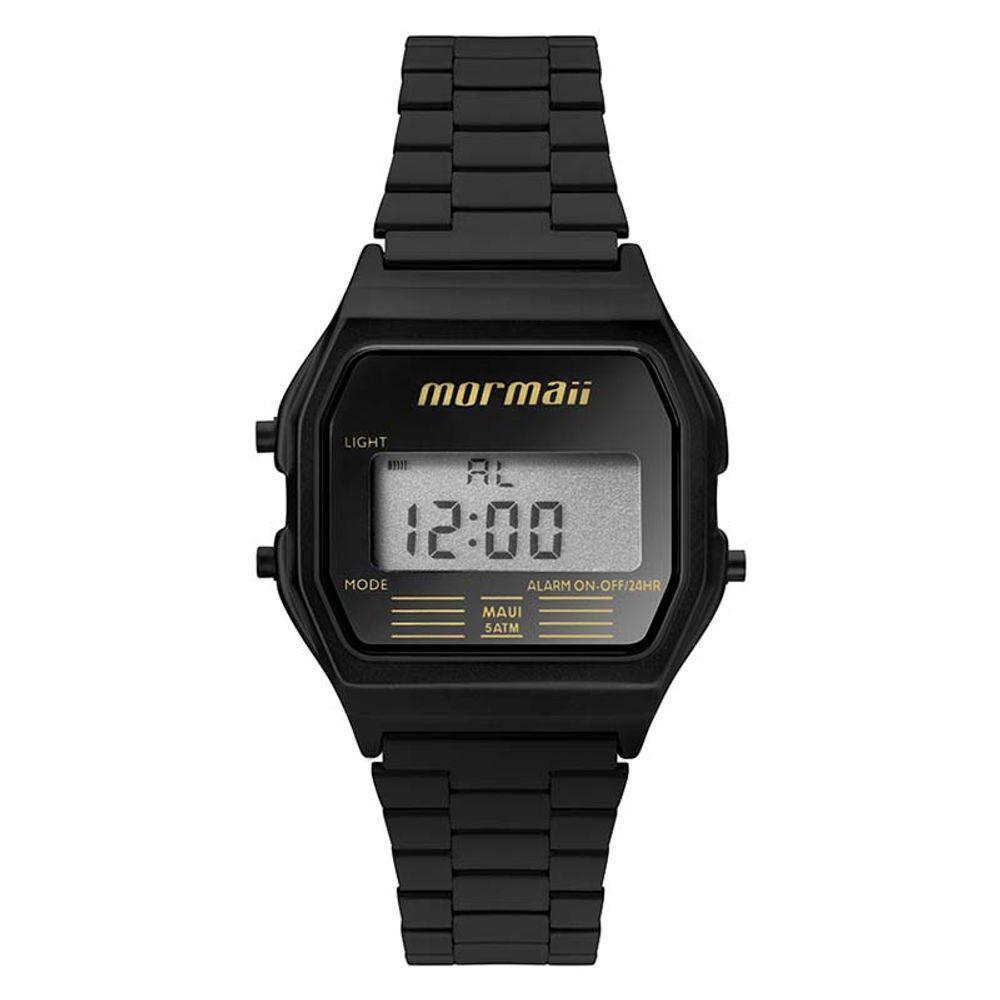 968009015 Relógio Mormaii MOJH02AJ/4P Preto - WQSurf