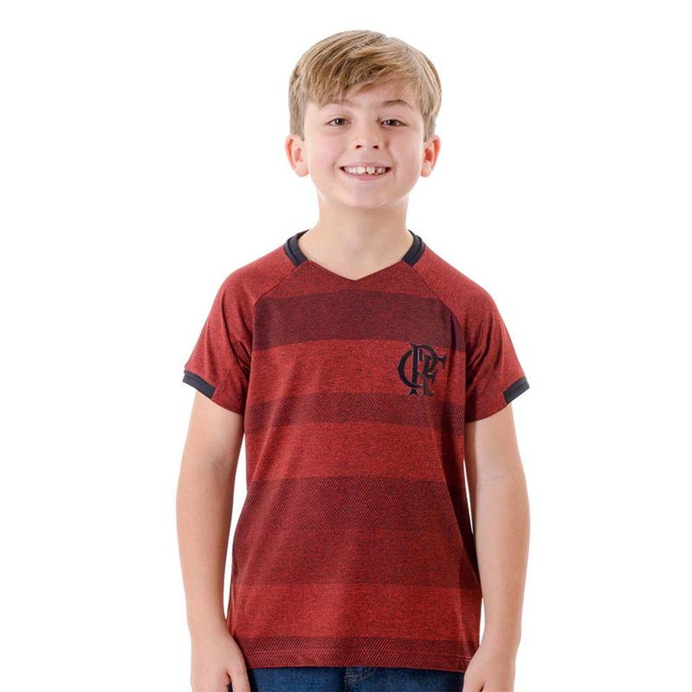 8671801b4c6af Camisa Flamengo Infantil Raglan Vision Vinho - EspacoRubroNegro